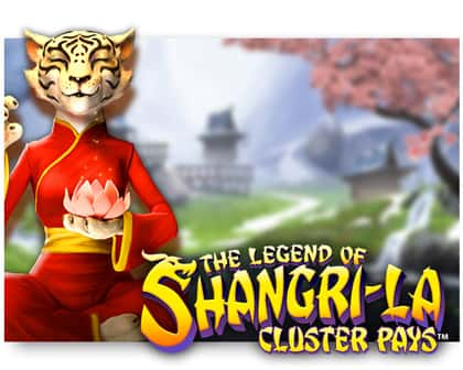 NetEnt The Legends of Shangri-La: Cluster Pays